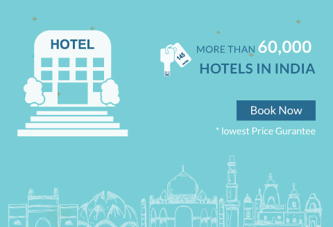 more than 60000 hotels in india