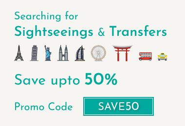 Sightseeing upto 50% Off