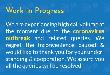 work in progress coronavirus