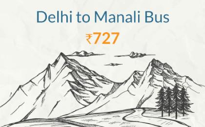 Delhi to Manali