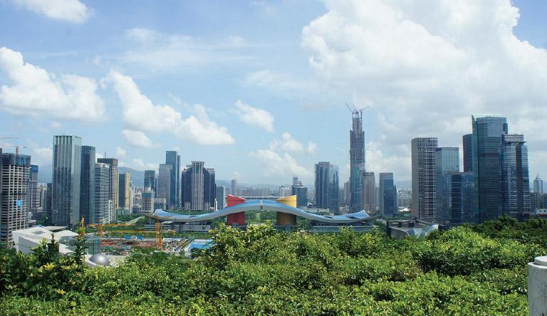 skyline-Shenzhen-China