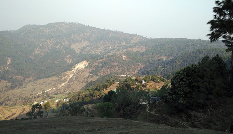 hills-view-near-chaukori-uttarakhand-india