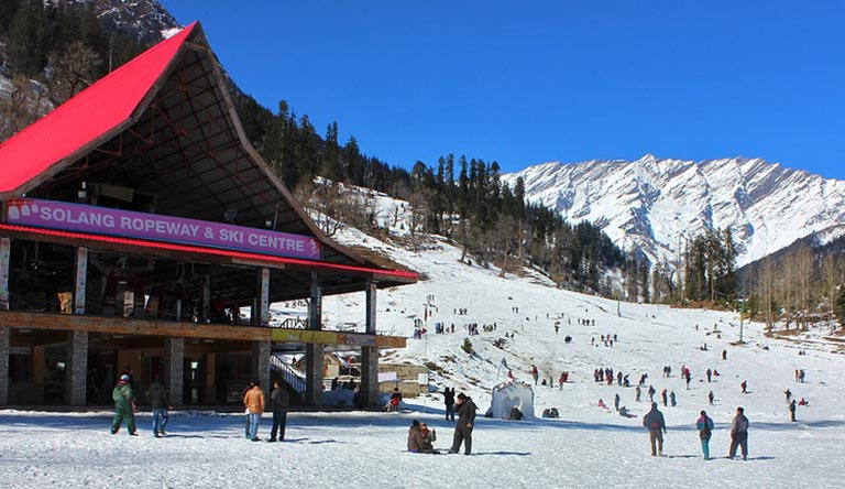 solang-valley-manali-himachal-india