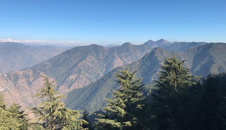 montains-mussoorie-uttarakhand-india