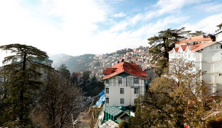 Shingar-Hotel-Shimla-MorningView