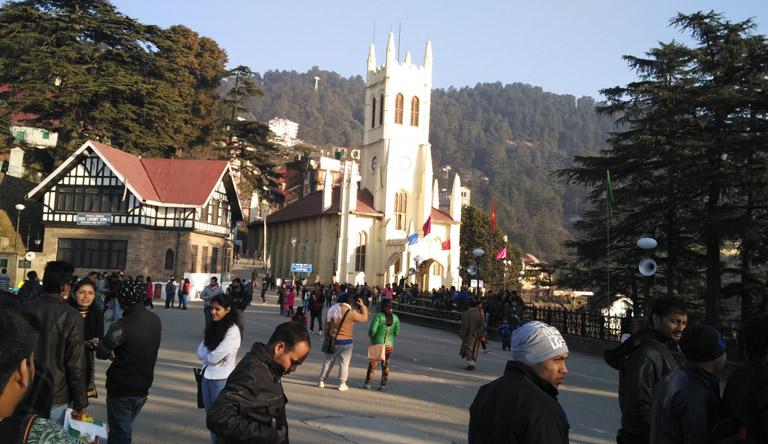 shimla-church-himachal-india