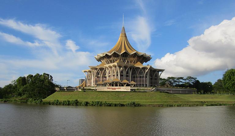 kuching-waterfront-parliament-building-malaysia