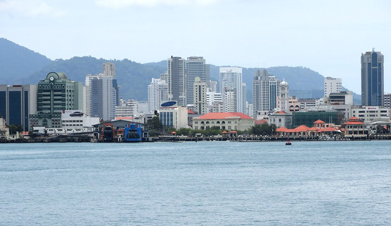 skyline-penang-malaysia