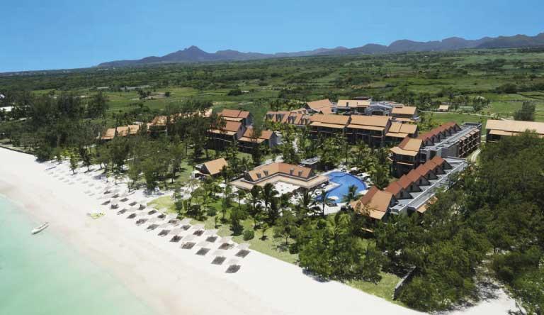Maritim-Crystals-Beach-Hotel-Aerial-View