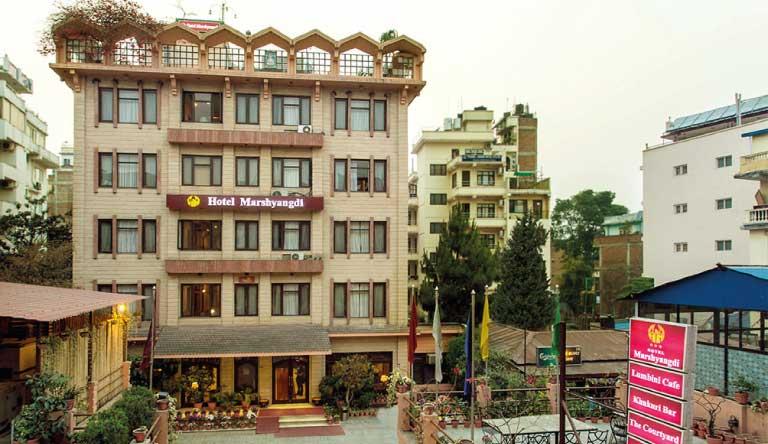 Hotel-Marshyangdi-Exterior