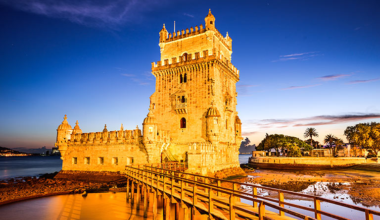 belem-tower-of-st-vince-at-sunset-lisbon-portugal