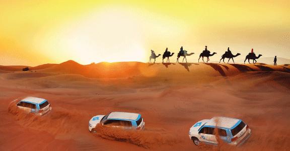 Dune Bashing in the Arabian Desert